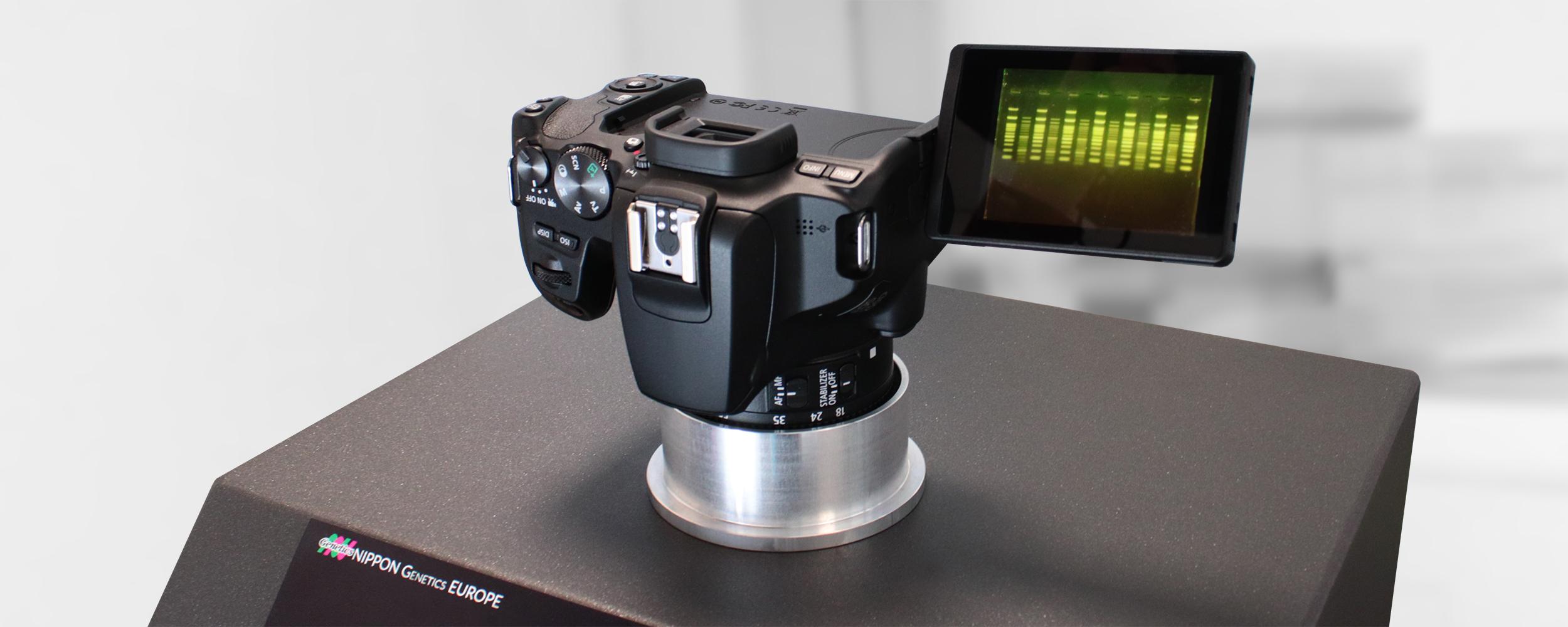 FastGene FAS-DIGI Compact Canon camera