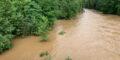 Flood on the Rur in Düren in July 2021